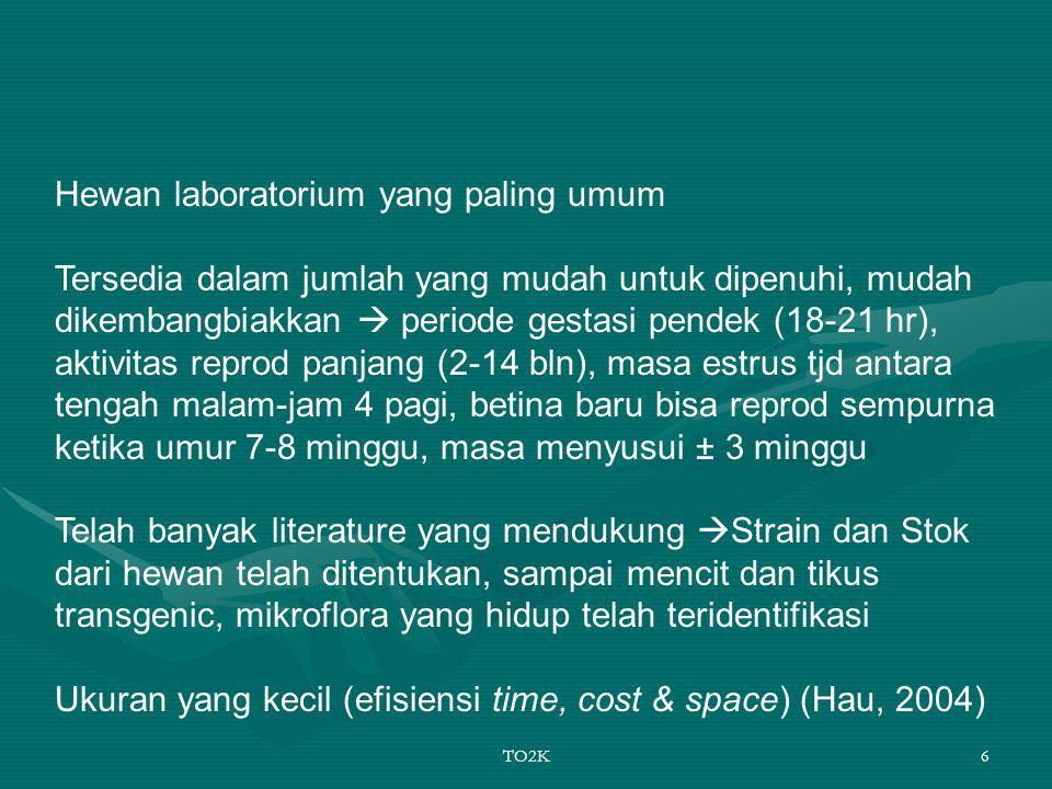 Hewan laboratorium yang paling umum