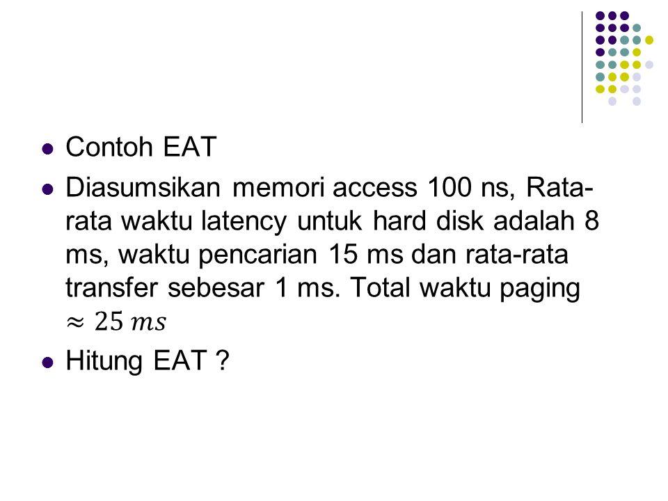 Contoh EAT
