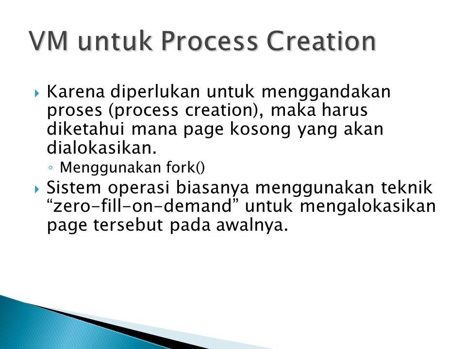 VM untuk Process Creation