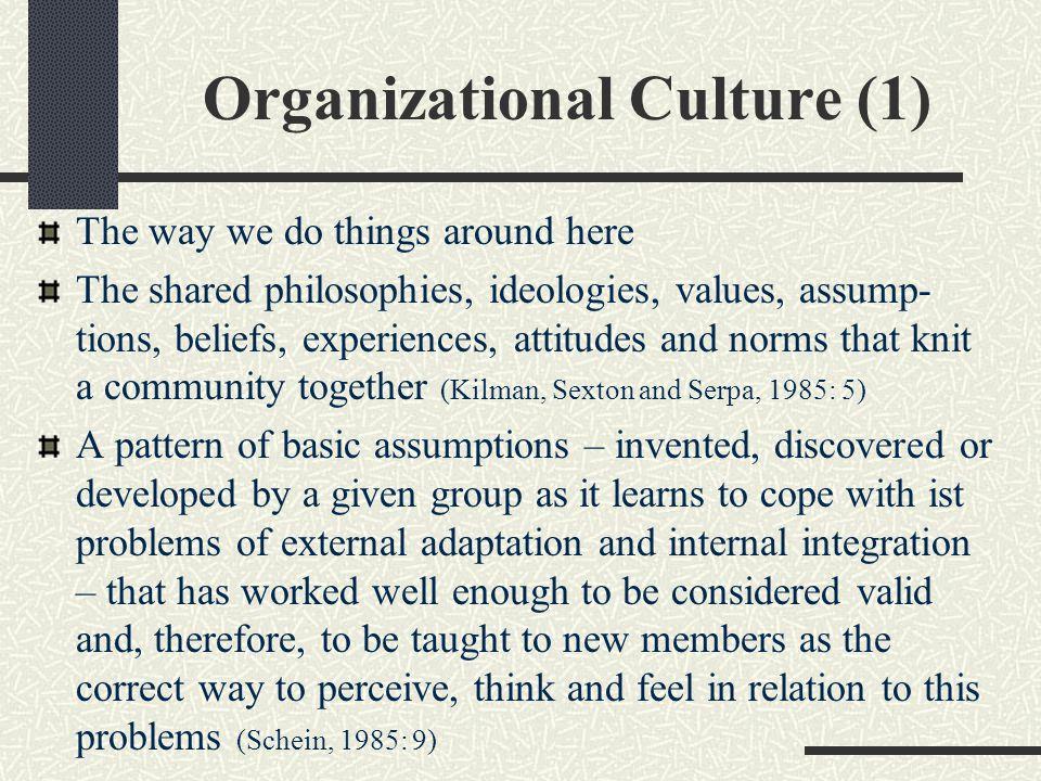 Organizational Culture (1)