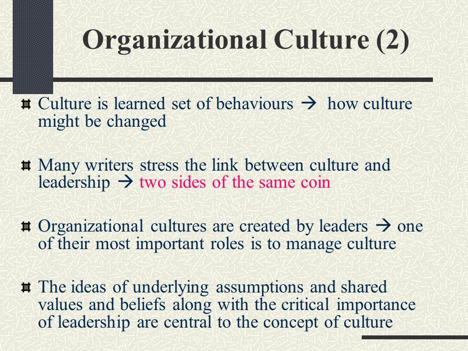 Organizational Culture (2)