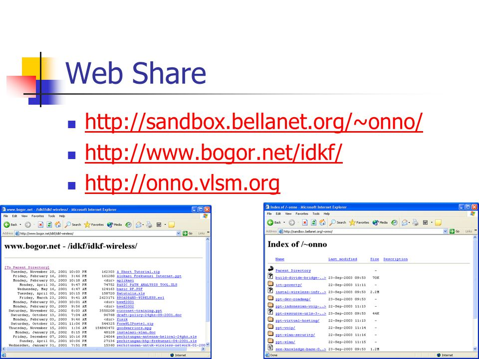 Web Share http://sandbox.bellanet.org/~onno/