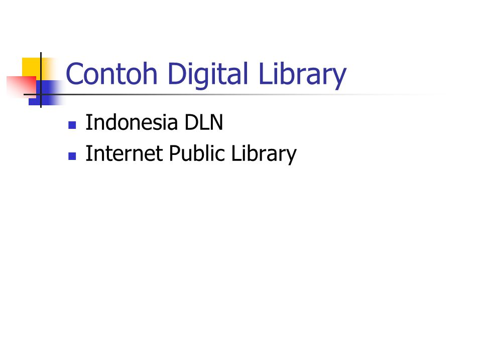Contoh Digital Library