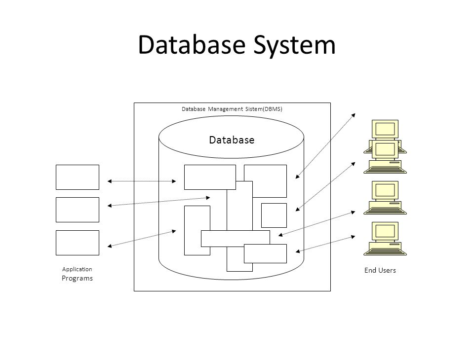 Database Management Sistem(DBMS)