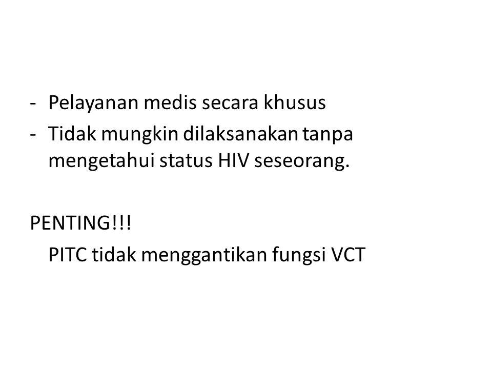 Pelayanan medis secara khusus