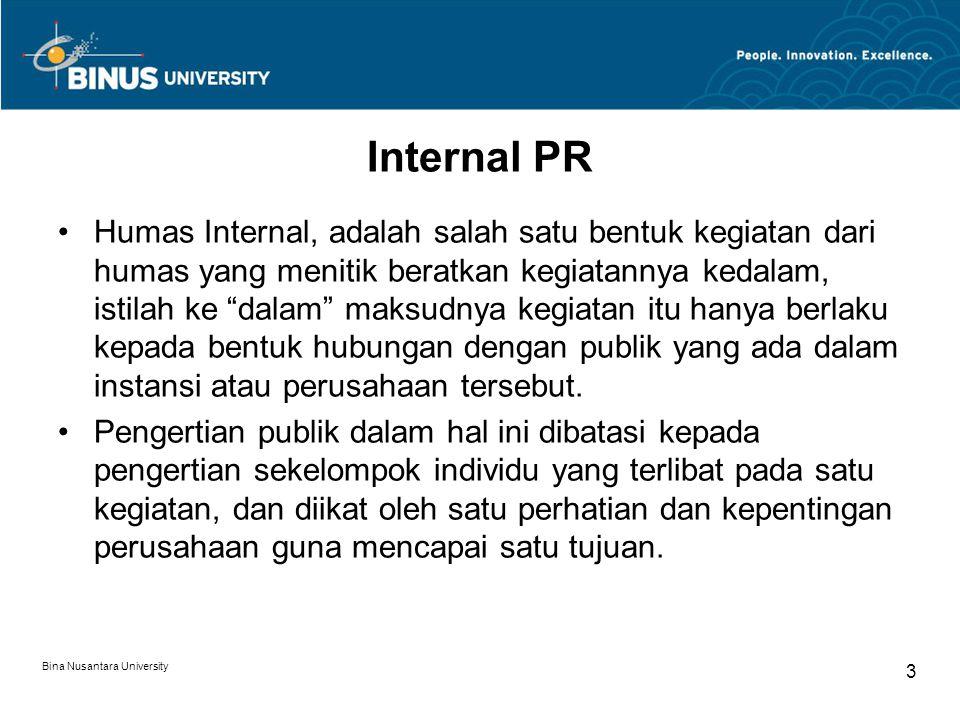 Internal PR