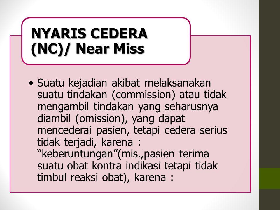 NYARIS CEDERA (NC)/ Near Miss