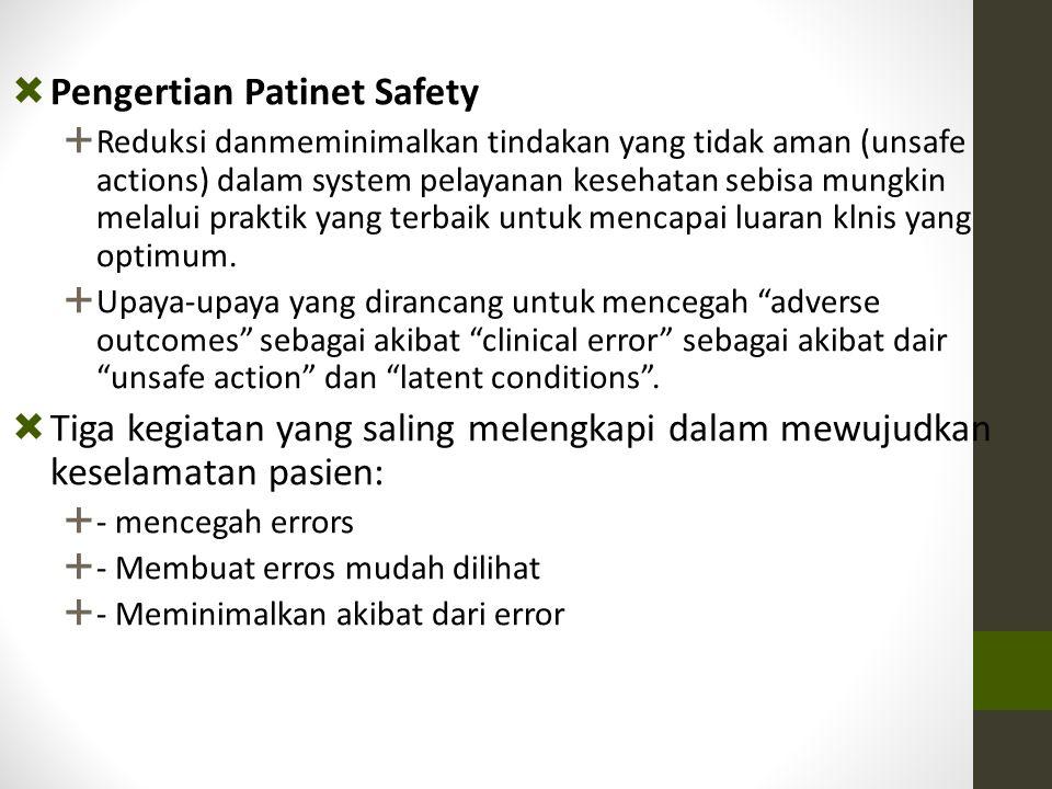 Pengertian Patinet Safety
