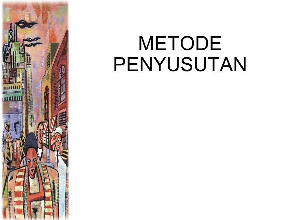 METODE PENYUSUTAN 1