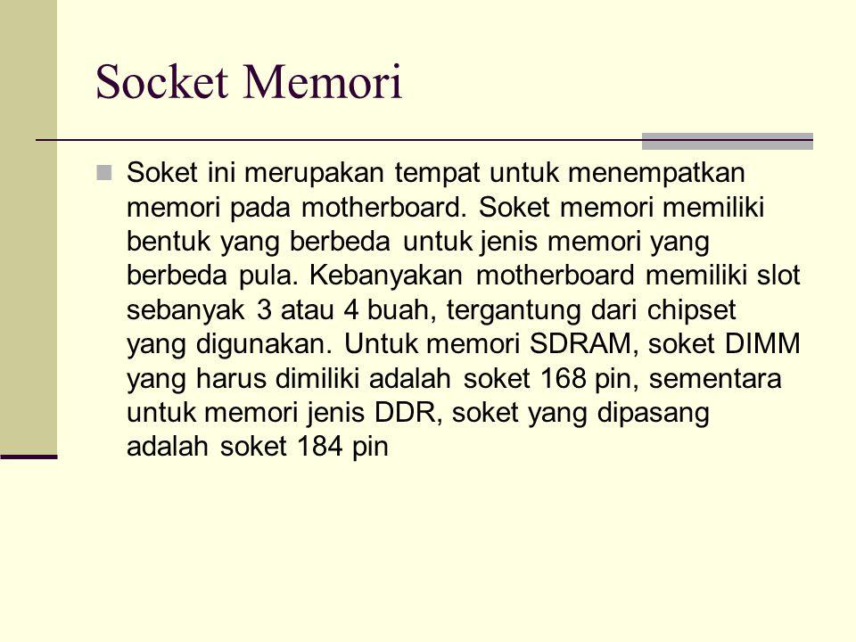 Socket Memori