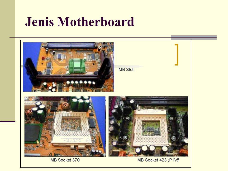 Jenis Motherboard