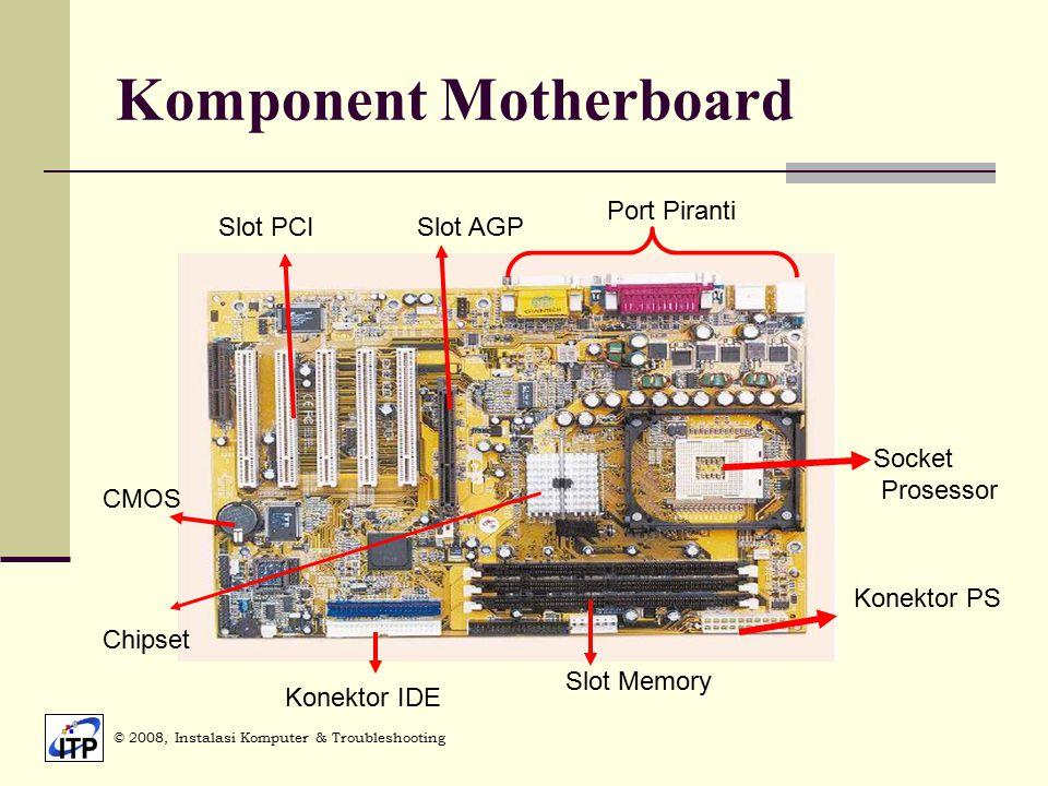Komponent Motherboard