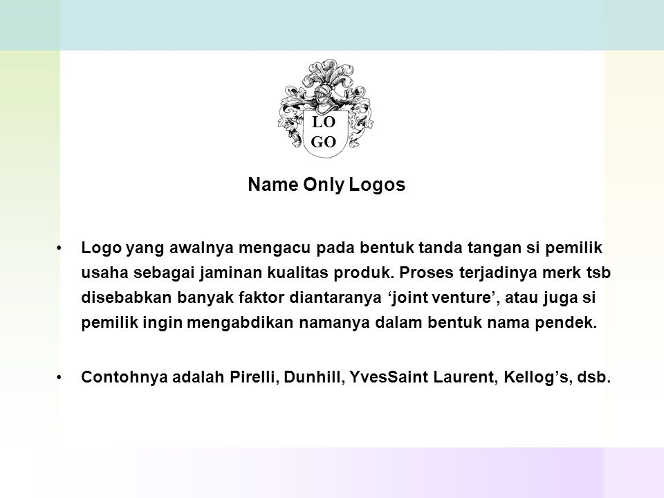 LOGO Name Only Logos.