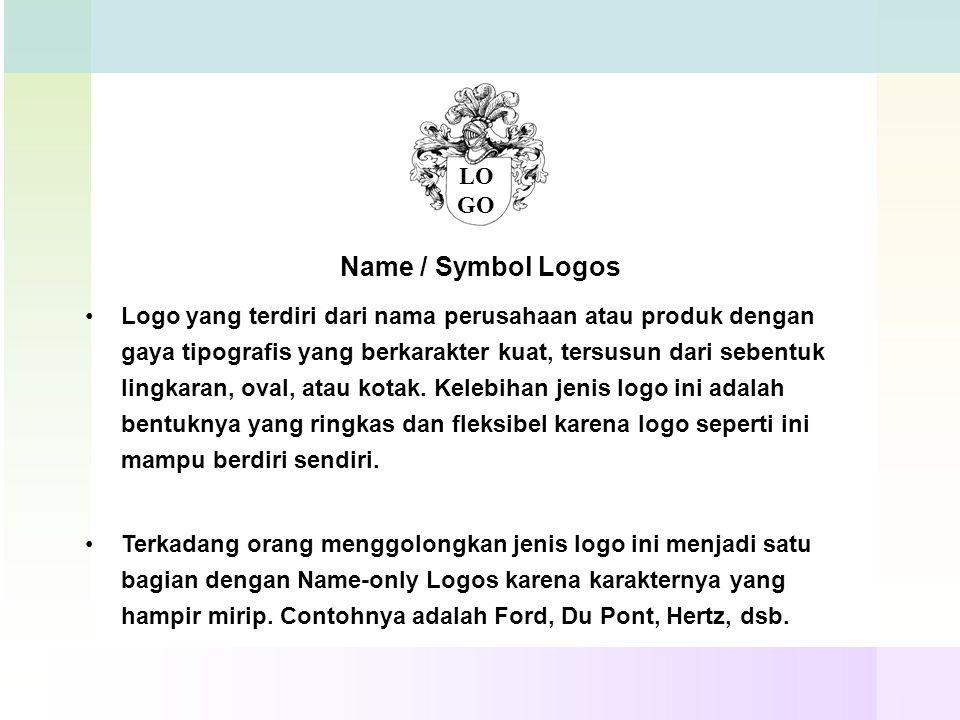 Name / Symbol Logos LOGO