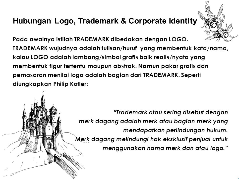 Hubungan Logo, Trademark & Corporate Identity