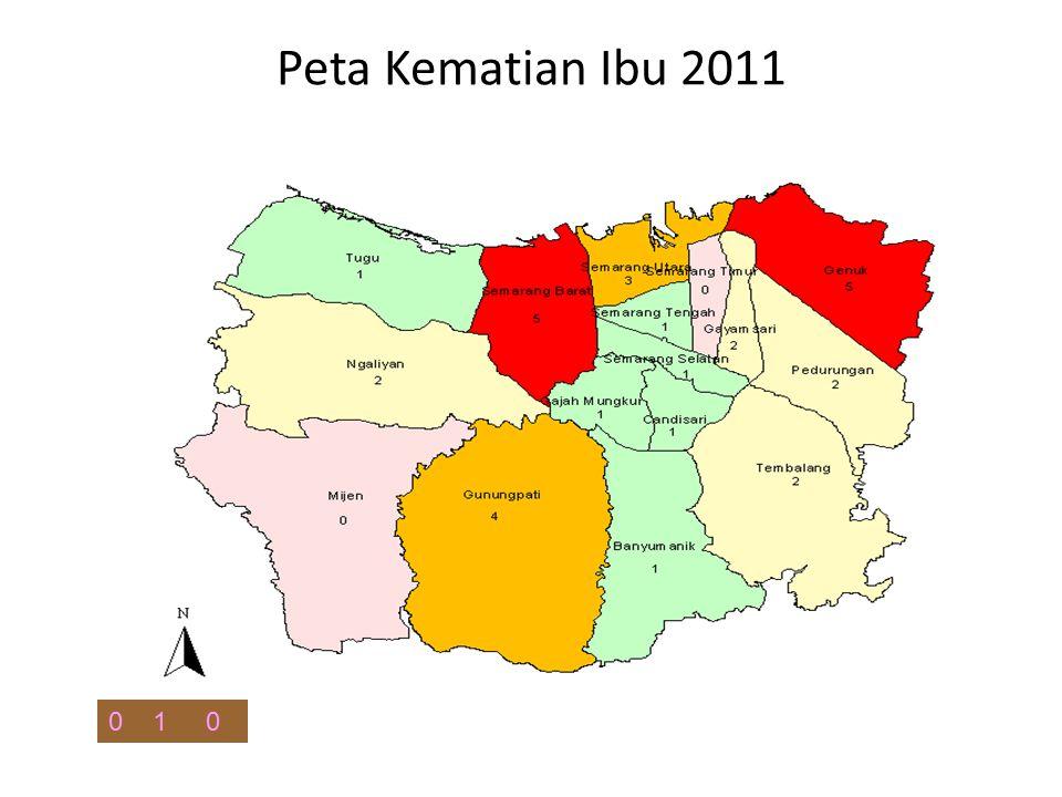 Peta Kematian Ibu 2011 1