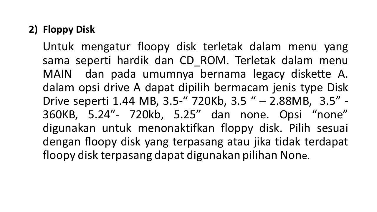 2) Floppy Disk