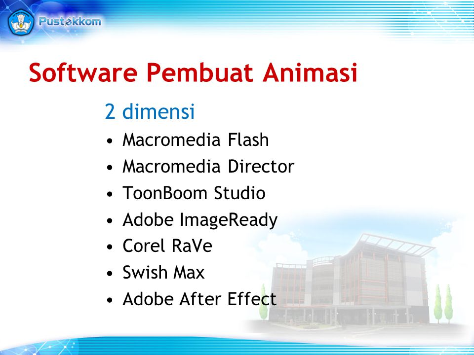 Software Pembuat Animasi