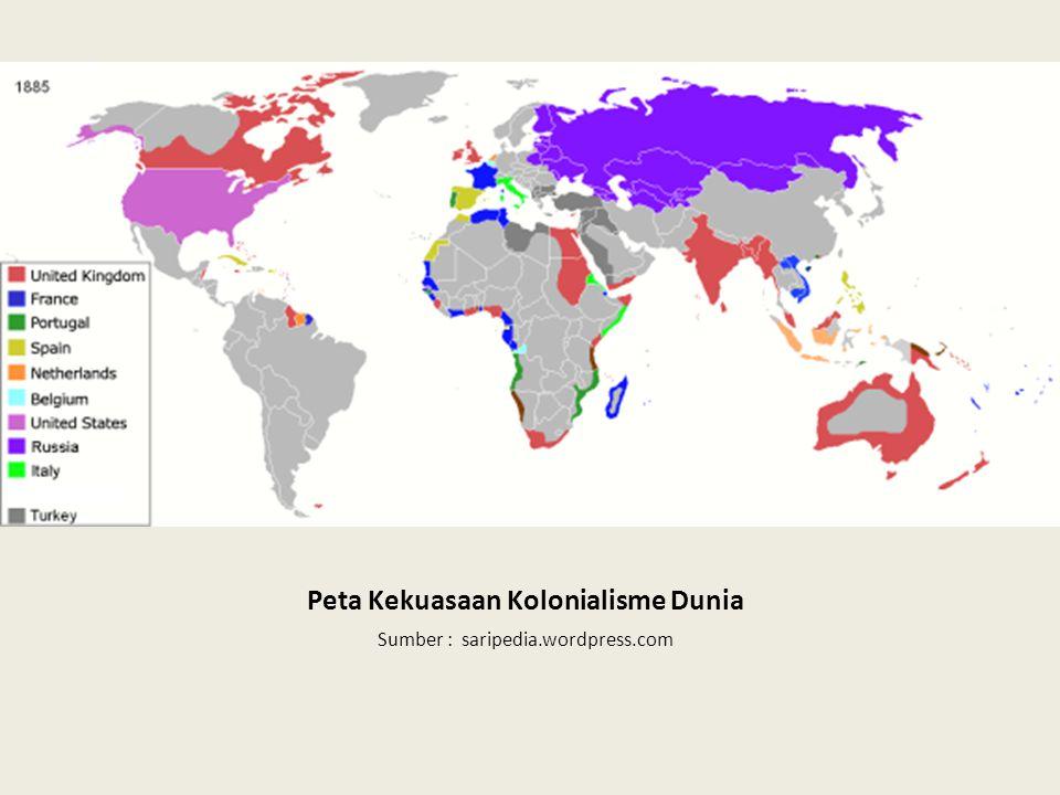 Peta Kekuasaan Kolonialisme Dunia