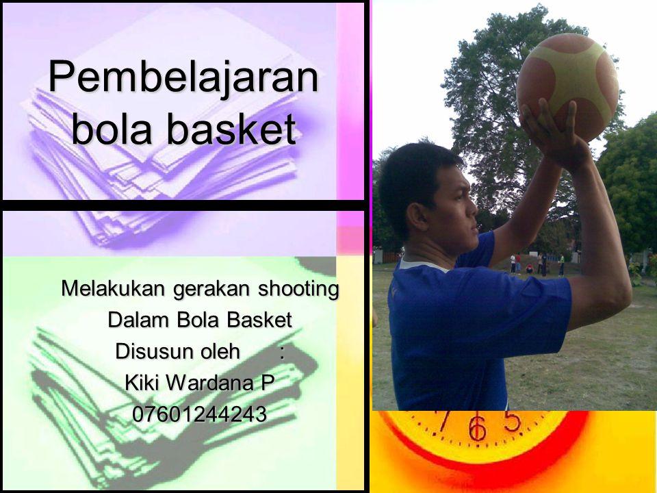 Pembelajaran bola basket