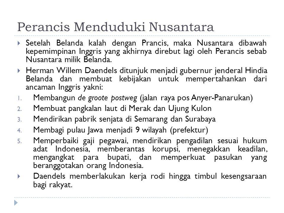 Perancis Menduduki Nusantara