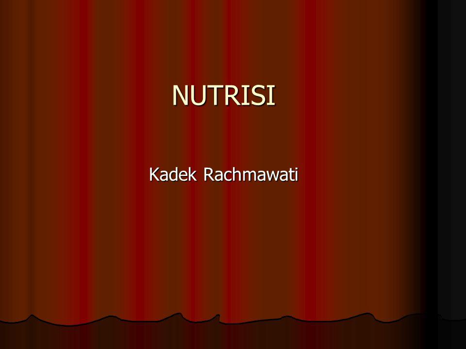 NUTRISI Kadek Rachmawati