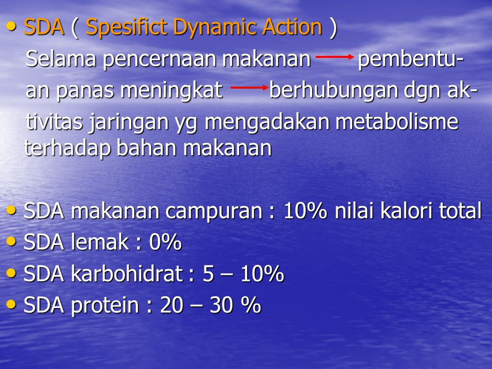 SDA ( Spesifict Dynamic Action )