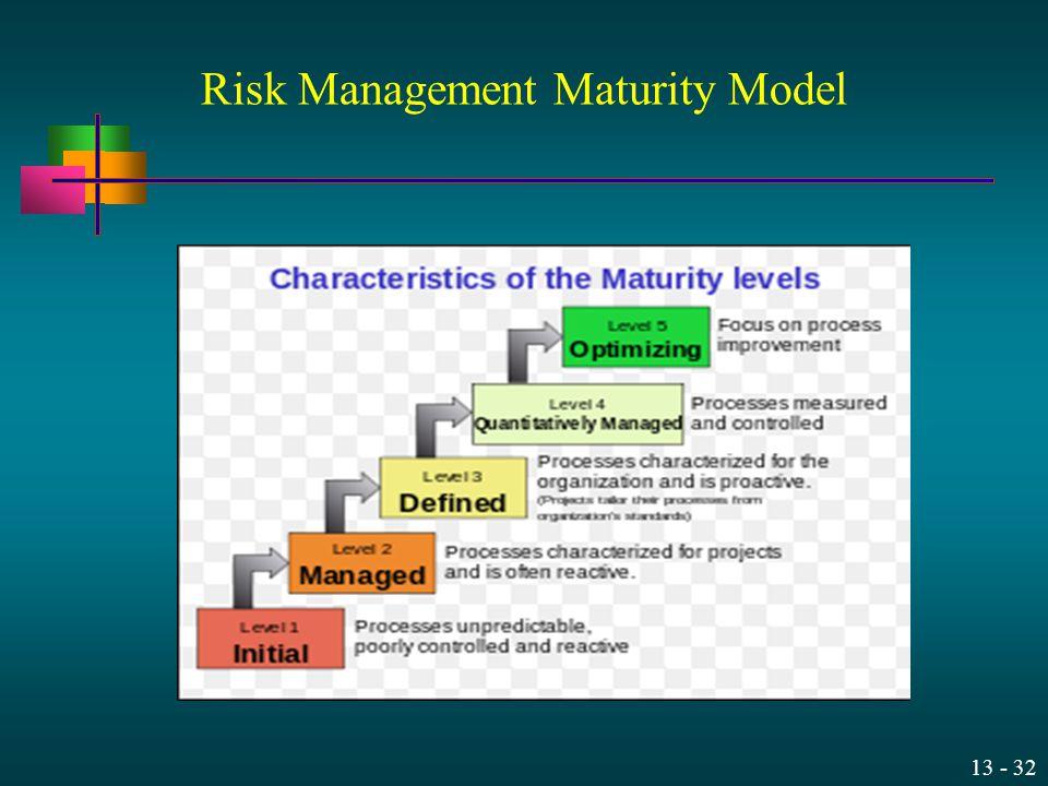 Risk Management Maturity Model