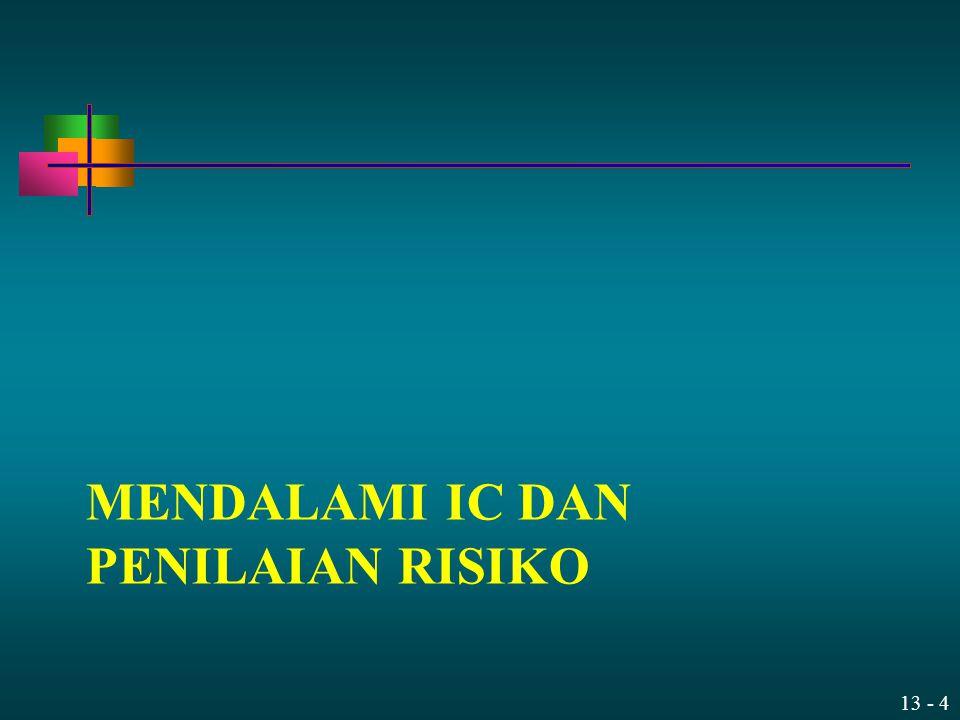 Mendalami IC dan Penilaian Risiko