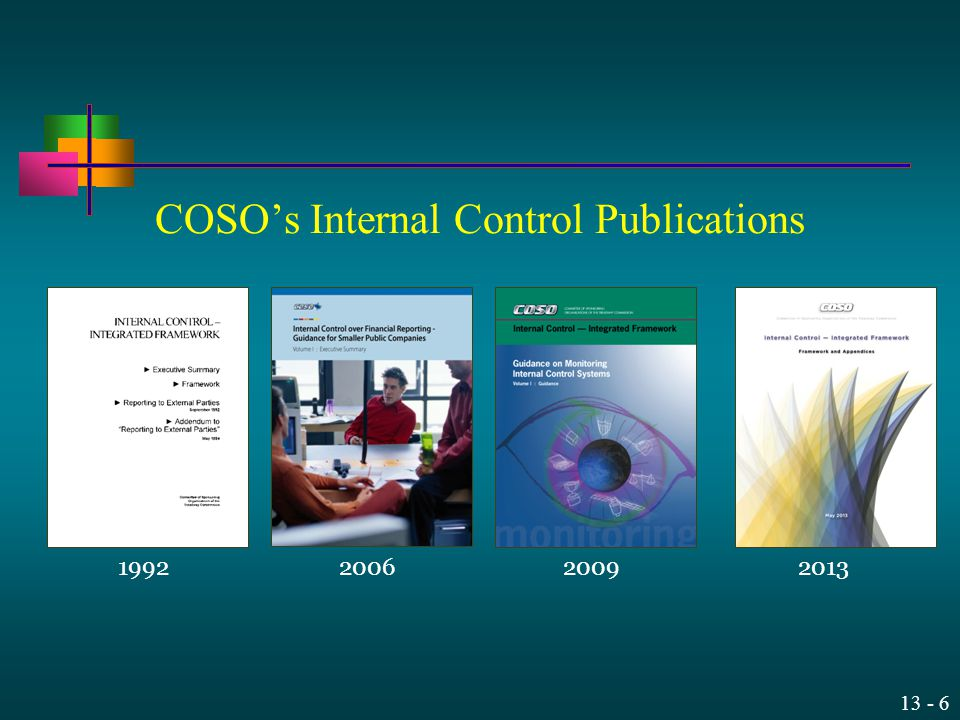 COSO's Internal Control Publications
