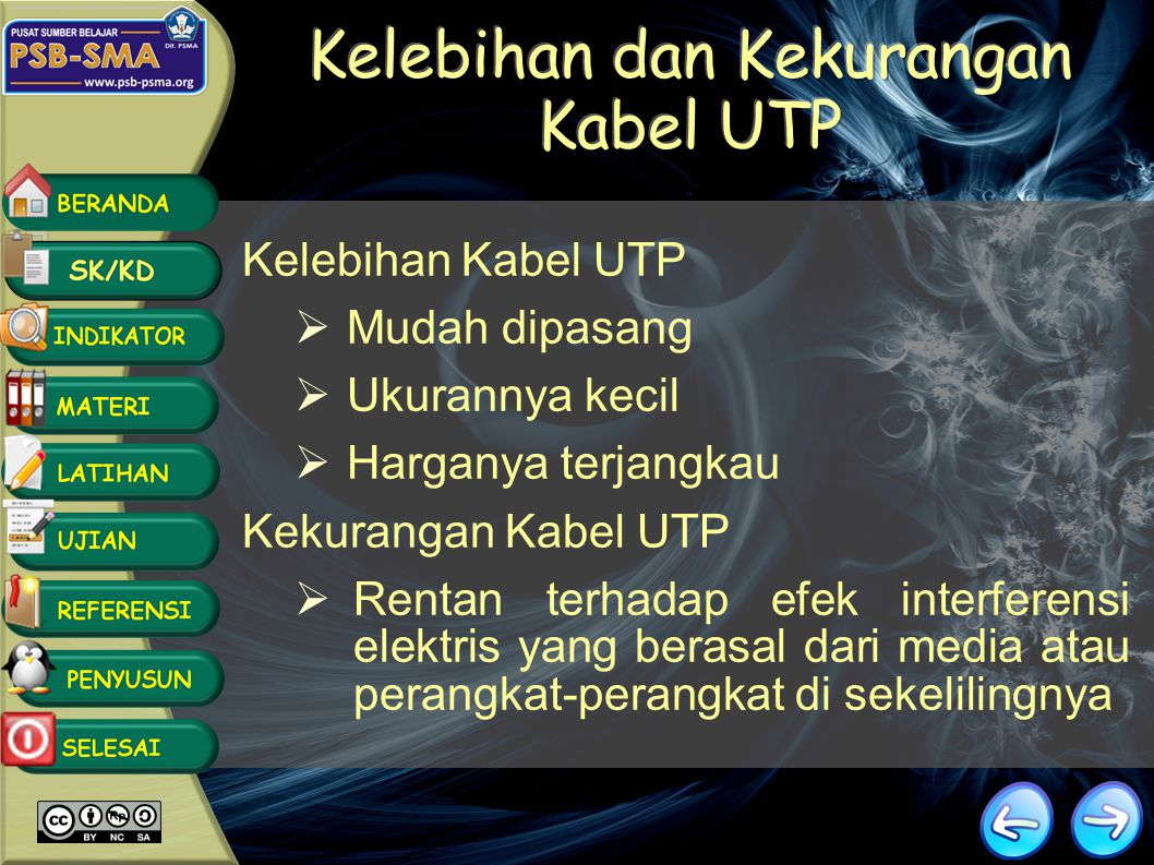 Kelebihan dan Kekurangan Kabel UTP