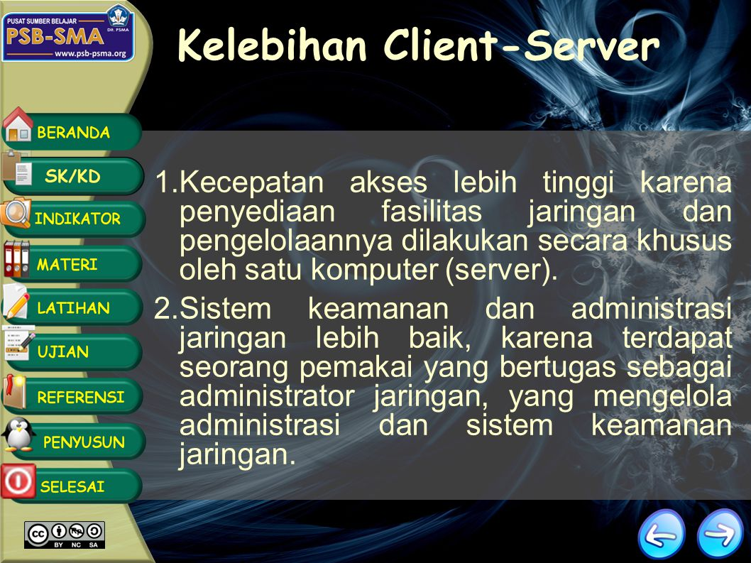 Kelebihan Client-Server