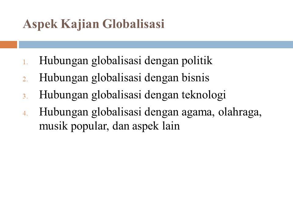 Aspek Kajian Globalisasi