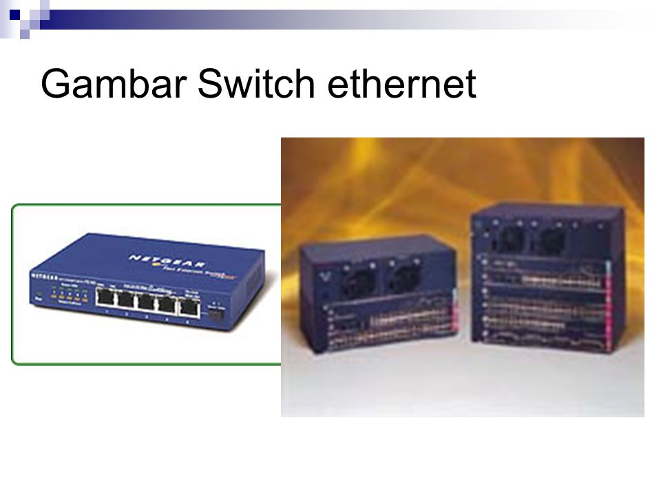 Gambar Switch ethernet