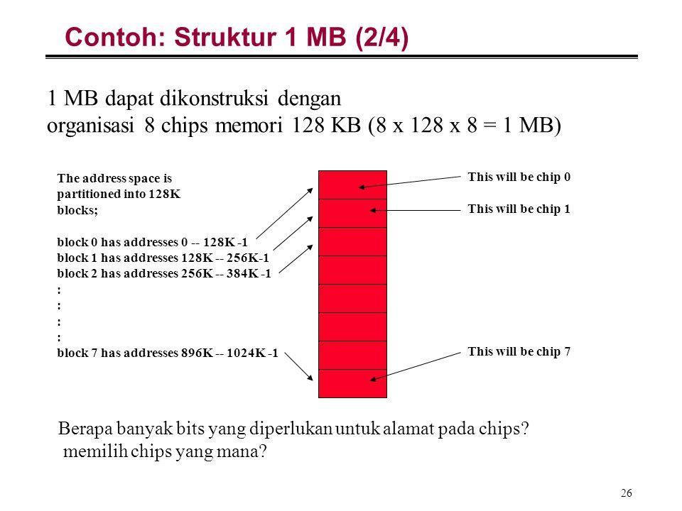 Contoh: Struktur 1 MB (2/4)