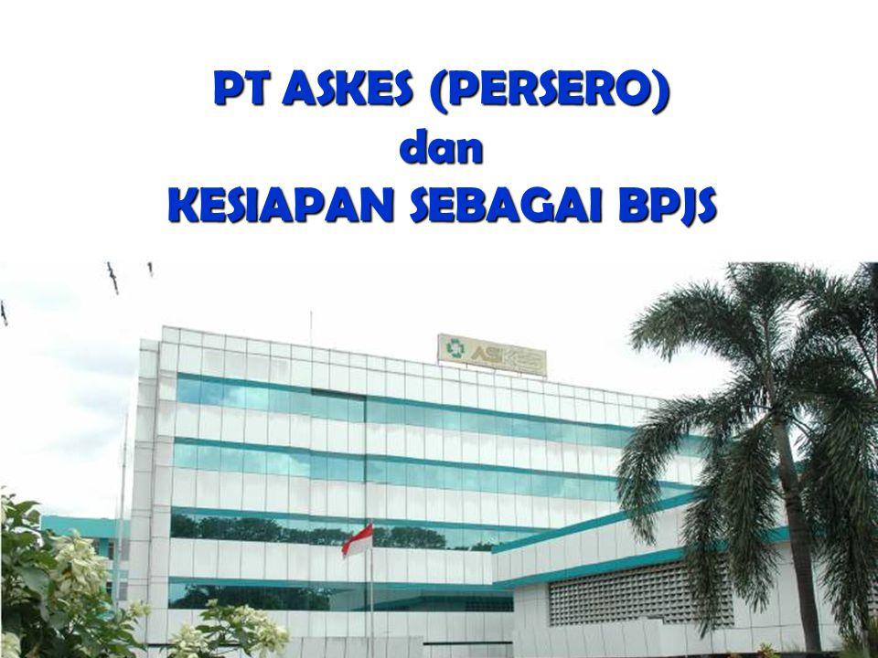 PT ASKES (PERSERO) dan KESIAPAN SEBAGAI BPJS