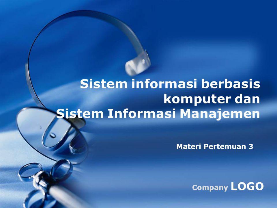 Sistem informasi berbasis komputer dan Sistem Informasi Manajemen
