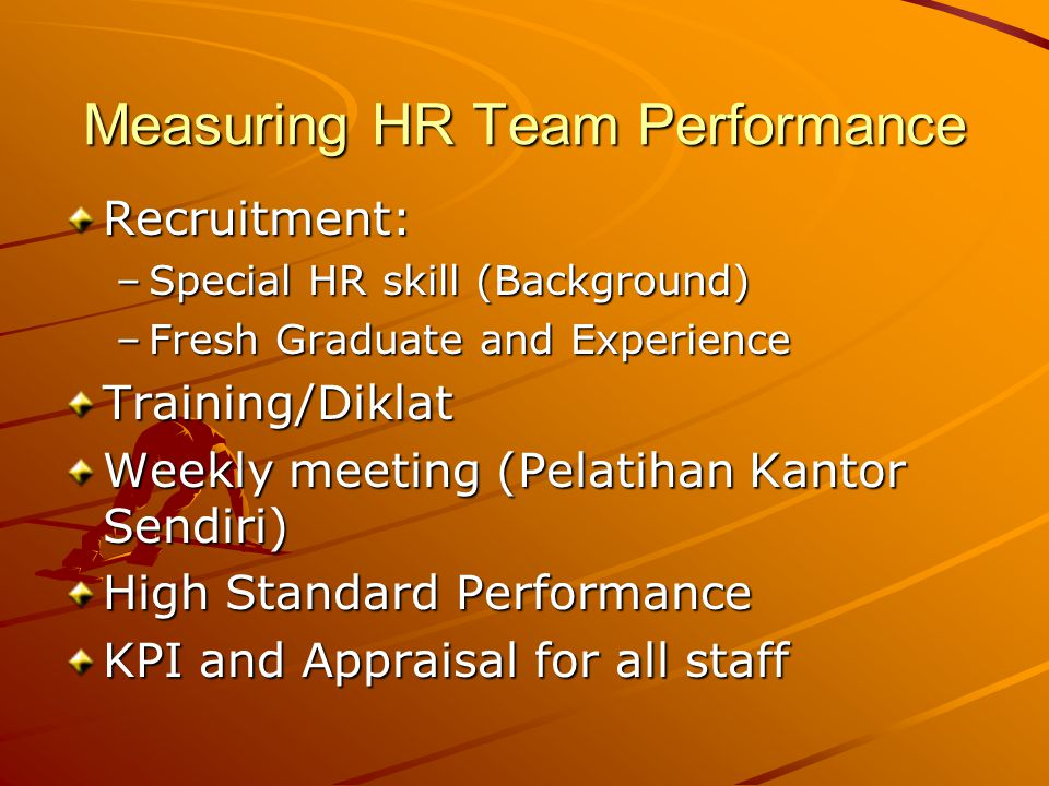 Measuring HR Team Performance