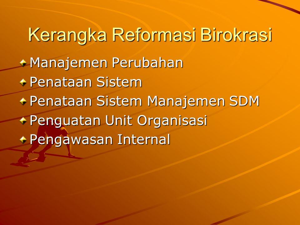 Kerangka Reformasi Birokrasi