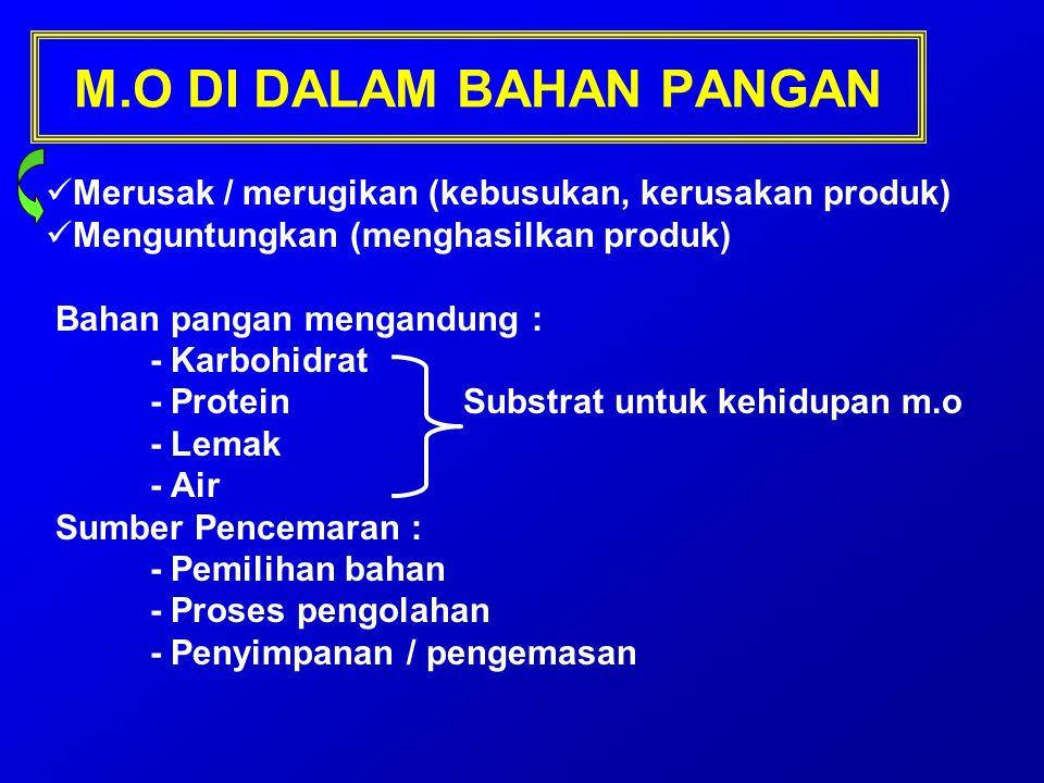 M.O DI DALAM BAHAN PANGAN