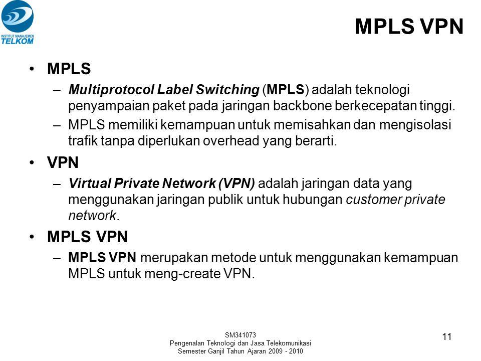 MPLS VPN MPLS VPN MPLS VPN