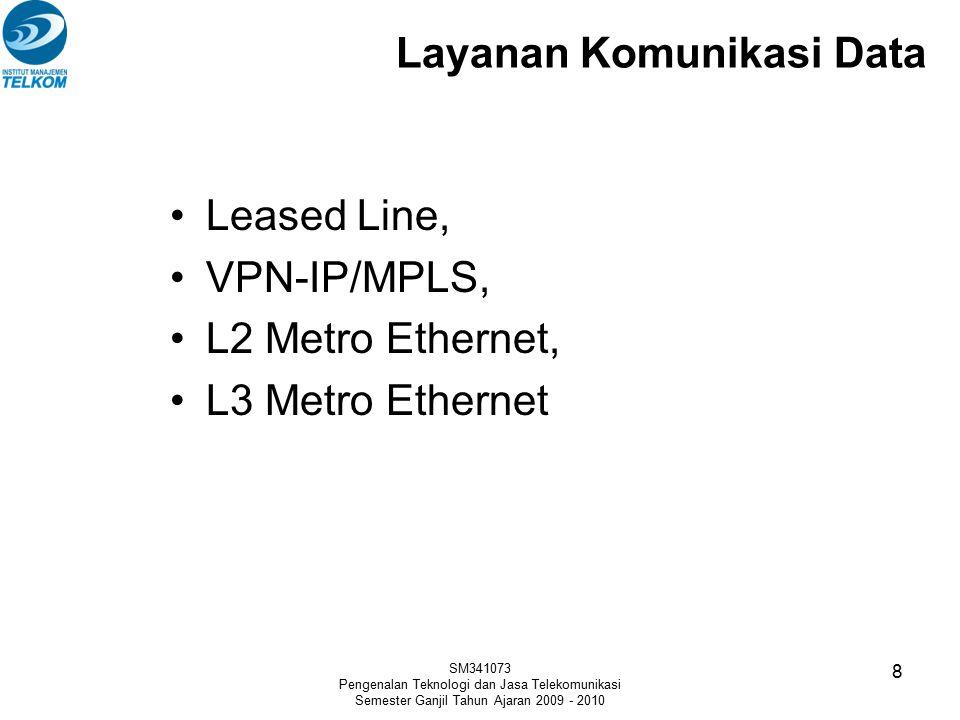 Layanan Komunikasi Data