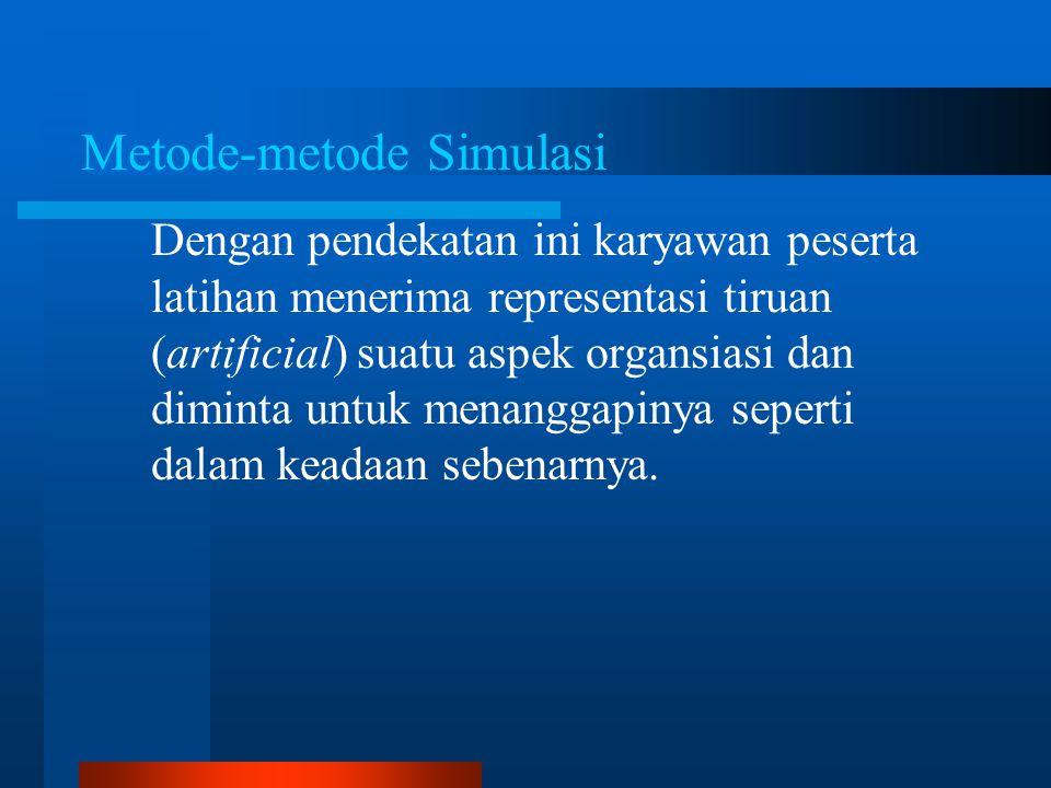 Metode-metode Simulasi