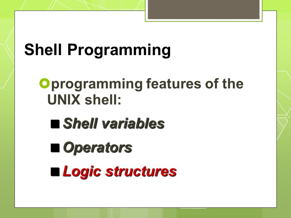 Shell ScriptingITS Research ComputingShell Scripting