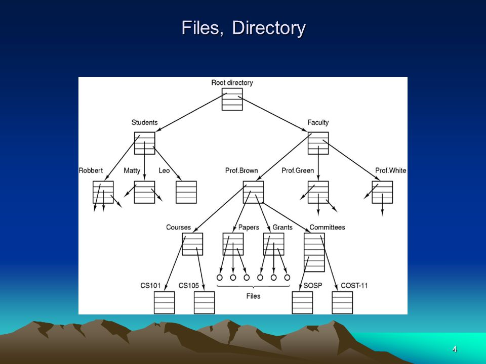 Files, Directory