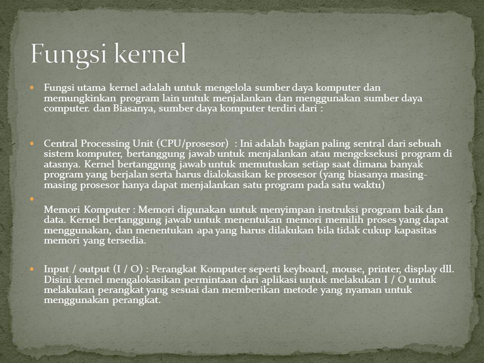Fungsi kernel