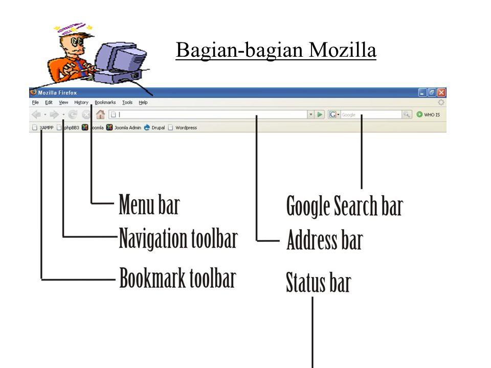 Bagian-bagian Mozilla