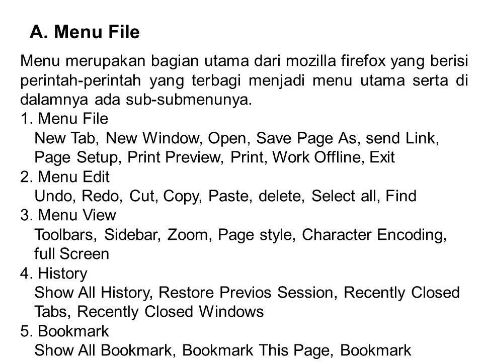 A. Menu File