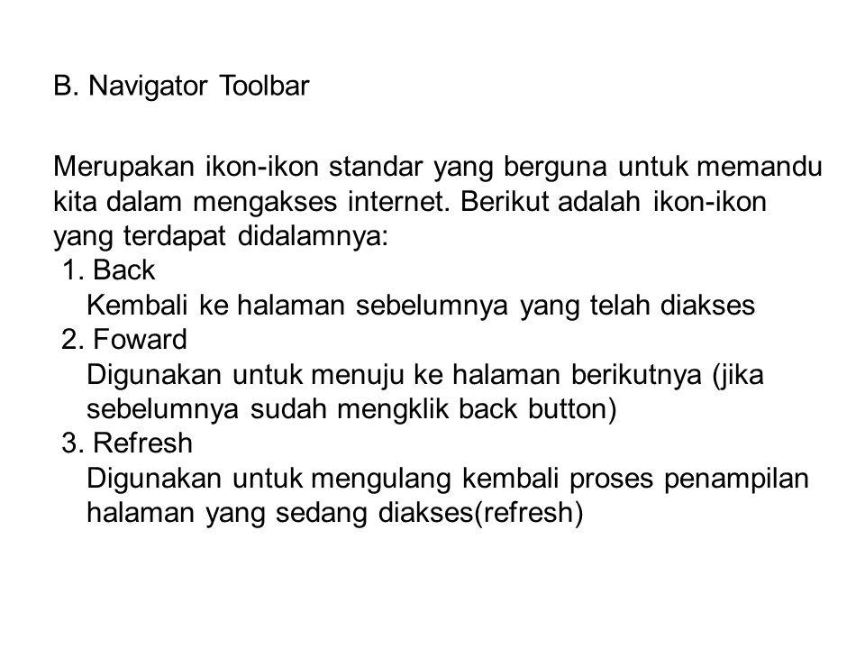 B. Navigator Toolbar