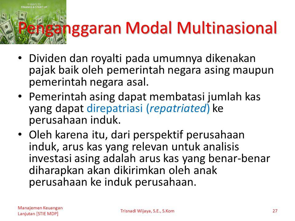 Penganggaran Modal Multinasional